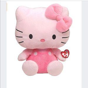 Large TY Hello Kitty plush